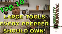 Top 10 Large Tools Every Prepper Should Own
