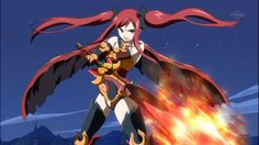 Fairy+Tail+Erza+Armor   Fairy Tail erza in flame empress armor