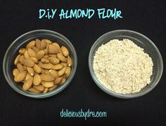 DIY almond flour