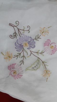 Erika Iorio's media statistics and analytics Zardozi Embroidery, Floral Embroidery Patterns, Embroidery Works, Embroidery Fabric, Hand Embroidery Stitches, Hand Embroidery Designs, Embroidery Kits, Beaded Embroidery, Chinese Embroidery