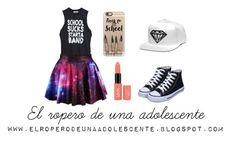 """Rock School"" by desi2003 on Polyvore featuring moda y Casetify"