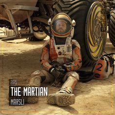 Film Önerisi : The Martian (Marslı), 2015. #koseliobjektif #instagram #facebook #twitter #youtube #pinterest #film #sinema #fragman #movie #cinema #trailer #films #movies #trailers #imdb #themartian #ridleyscott #mattdamon #marsli
