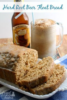 LOVE IT WILL MAKE AGAIN-Hard Root Beer Float Bread. FYI also can sub strawberry beer.