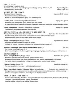 Musician Resume Graduate Research Assistant Resume  Httpexampleresumecv