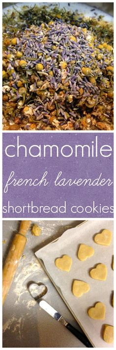 The floral aromas of chamomile and lavender perfume these buttery cookies, making them the perfect last bite of the night.