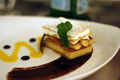 Banana Napolean Recipe served at Flying Fish Cafe in Boardwalk Resort at Disney World
