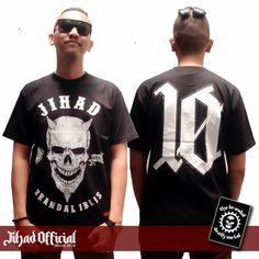 Official : Jihad Death Metal (Merch 2016) T-Shirt : Brandal Iblis Size : M - L - XL - XXL (Import) Price : Rp. 130.000,- (Exclude Shipping) Plus : Sticker GrafTac TBDM (8cm x 10cm) Order : 085222090666 / 085723321707 Pin : 2A1DF4D1 / 54C5312B Instagram : https://www.instagram.com/jihadeathmetal/