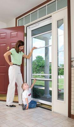 Larson Revolutionized The Storm Door Market When We