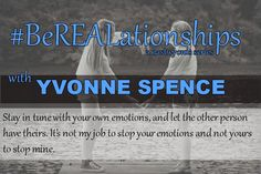 Please welcome Yvonne Spence who won a Voices of the Year Award to #BeREALationships. Her series 1000 Voices Speak for Compassion brings bloggers together to impact the world. A person I love works…