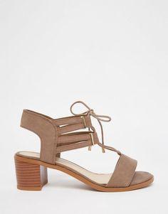 Image 2 - New Look - Chaussures à lacets et talon carré