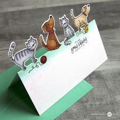 Off The Edge Cards Video by Jennifer McGuire Ink