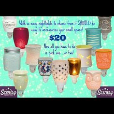 Scentsy plug ins Message to details Other