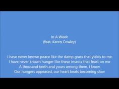 Hozier - In a Week (featuring Karen Cowley) - YouTube
