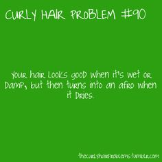 looks good wet/damp, then BAM frizz. Black Girls Hairstyles, Straight Hairstyles, Curly Hair Problems, Hair Quotes, Wet Hair, Hair Issues, Naturally Curly, Curly Girl, Hair Hacks
