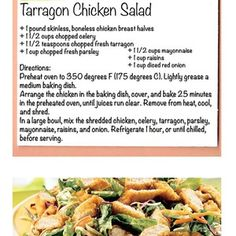 Tarragon Chicken Salad... One of our favorites and let's also throw out there that it's extremely healthy! Try it out for yourself  #recipe #healthy #fit #foodporn #iifym #recipes #healthyfood #fitcook #goodnessgardens #delicious #chicken #protein #igfit
