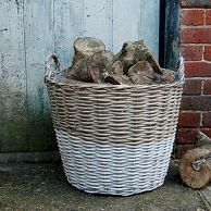 Amazing This Versatile Wicker Basket Is Perfect For Storing Logs, Toys, Shoes U2026  Just About Gallery
