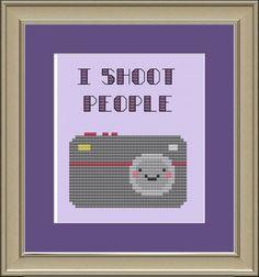 I shoot people :)