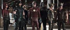 Así es el primer vistazo del crossover de 'Arrow' y 'The Flash' con personajes de 'Legends of Tomorrow'