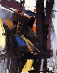 No Brash Festivity — Franz Kline, King Oliver, 1958 Franz Kline, Tachisme, Willem De Kooning, Action Painting, Painting & Drawing, Painting Lessons, Henri Matisse, Jean Michel Basquiat, Illustration