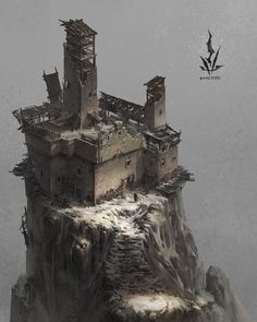 ArtStation - architecture, Night Watchart