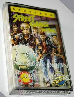 Street Gang Football (Code Masters) 1989 / IBSA - Erbe Sofware [ZX Spectrum] [nuevo precintado]