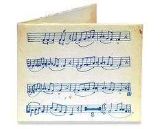 Music Sheet Mighty Wallet | QUIRKS