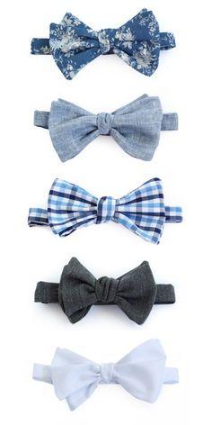 DIY Bow ties via iamthelab.com File under: Bow ties, Accessories, Dapper, Dandy
