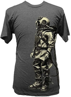 Vintage Diving Suit T-Shirt