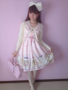 Lolita fashion model Aoki Misako
