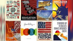 These radical posters show what makes America great — right now