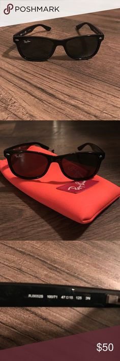 Authentic toddler Ray-bans Authentic. Barely used. For boys and girls Ray-Ban Accessories Sunglasses