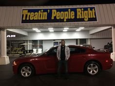Congratulations Keaton Jones on the purchase of your 2011 Dodge Charger. We appreciate your business & friendship.
