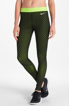 Now that I am recovering from my ACL surgery, I can finally look at and get excited by workout outfits, like this Nike 'Pro Hyperwarm' Tights #Nordstrom #nike