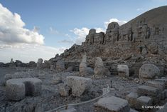 Nemrut Dağı Doğu Terası Heykelleri