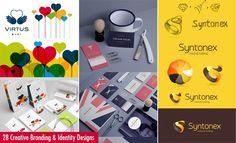 50 Creative Branding and Identity Design examples: http://www.playmagazine.info/50-creative-branding-and-identity-design-examples/
