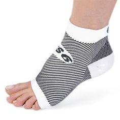 Compression foot sleeves provide breakthrough treatment for plantar fasciitis and heel pain.