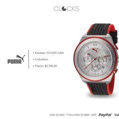 Reloj puma para caballero a sólo $2,700 #SoloEnClocks  http://instagram.com/clocksrelojes https://www.facebook.com/clocksrelojes https://twitter.com/ClocksRelojes