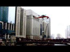 111 West Wacker - Copter lift to the roof