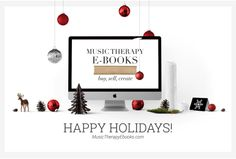 Happy Holidays: 3 e-books for your holiday-themed therapy interventions!