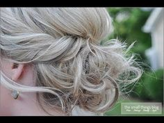 www.merakilane.com 10-easy-glamorous-updos-for-medium-length-hair Hair Tutorials For Medium Hair, Up Dos For Medium Hair, Updos For Medium Length Hair Tutorial, Medium Length Updo, Small Things Blog, Prom Hair, Bridesmaid Hair, Bridesmaids, Twisted Updo
