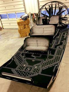 SeaDeked Dynamarine Airboat by Dek Designs | SeaDek Marine Products Blog