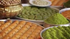 The Best Places to Get Mouth-Watering Baklava Treats in Istanbul Pistachio Baklava, Turkish Delight, Health Facts, Love Is Sweet, Granola, The Good Place, Carrots, Turkey, Treats