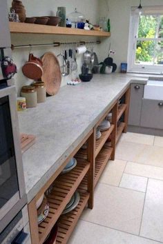 Amazing Kitchen Remodel and Shelves Storage Organization Amazing Kitchen Remodel and Shelves Storage Organization Ideas 15 Great Storage Ideas For The Kitchen Anyone Can Do 49 Brilliant Diy Kitchen Storage Organization Ideas Cuisines Diy, Cuisines Design, New Kitchen Cabinets, Kitchen Cupboards, Kitchen Sinks, Kitchen Counters, Open Kitchen, Kitchen Small, Ikea Cabinets
