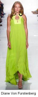 Tonos cítricos - verde lima SS13