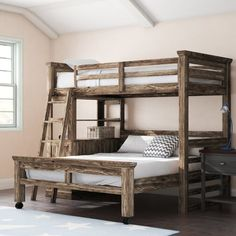 This unique portable bunk beds is certainly an amazing design approach. House Bunk Bed, Bunk Bed Rooms, Loft Bunk Beds, Bunk Bed Plans, Modern Bunk Beds, Rustic Bunk Beds, Queen Bunk Beds, Girls Bunk Beds, Adult Bunk Beds