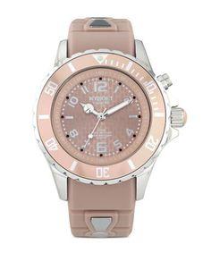Kyboe! Analog Quartz Watch- FW4000515 Women's Warm Taupe