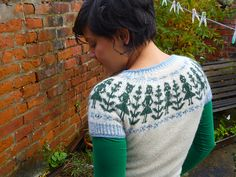Ravelry: weeseaweed's ::w e a r i n g:: paper dolls and winter trees