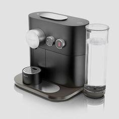 Buy Premium Nespresso Coffee Machine From Online Store in India at Global Gadgets. Add some luxury to every morning life with freshly made high quality coffee from a Nespresso machine. Coffee Machine Design, Coffe Machine, Machine Expresso, Cappuccino Machine, Coffee Design, Cafetiere Design, Coffee Cups, Coffee Maker, Coffee Coffee