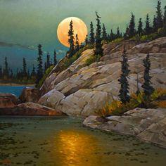 Graeme Shaw, artist, original paintings at White Rock Gallery