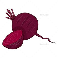 Buy Vector Cartoon Red Beetroot Illustration by nikiteev on GraphicRiver. Fruit And Veg, Beetroot, Vector Graphics, Symbols, Cartoon, Illustration, Red, Fruits And Veggies, Icons